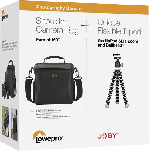 Best Buy Weekly Ad: Lowepro/Joby Camera Bag and Tripod Bundle for $49.99