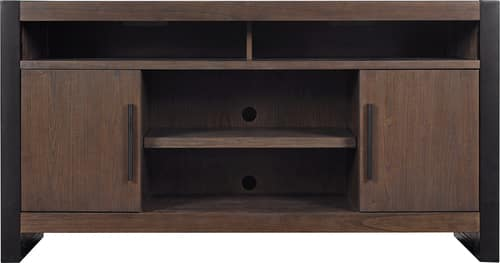 "Best Buy Weekly Ad: Bell'O - TV Console Up To 65"" TVs - Antique Coffee for $349.99"