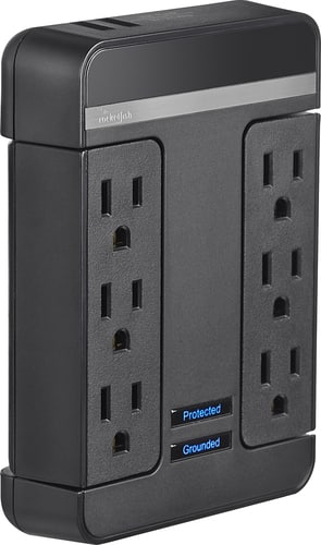 Best Buy Weekly Ad: Rocketfish 6-Outlet Surge Protector for $29.99