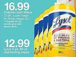 Target Weekly Ad: Lysol Lemon Disinfecting Wipes 320 Wipes for $12.99