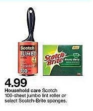 Target Weekly Ad: Scotch Lint Roller for $4.99