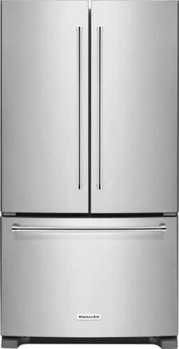 Best Buy Weekly Ad: KitchenAid - 20.0 cu. ft. Counter-Depth French Door Refrigerator-Stainless Steel for $1,899.99