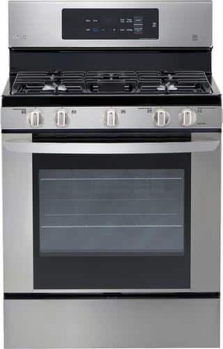 Best Buy Weekly Ad: LG - 5.4 cu. ft. Gas Range for $699.99