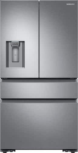 Best Buy Weekly Ad: Samsung - 22.7 cu. ft. 4-Door French Door Counter-Depth Refrigerator-Stainless Steel for $2,499.99