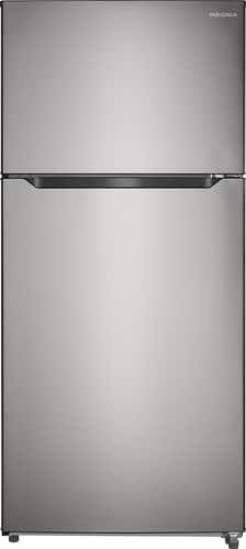 Best Buy Weekly Ad: Insignia - 18 cu. ft. Top-Mount Refrigerator-Stainless Steel for $599.99
