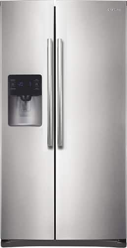 Best Buy Weekly Ad: Samsung - 24.5 cu. ft. Side-by-Side Refrigerator-Stainless Steel for $1,299.99
