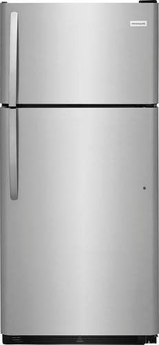 Best Buy Weekly Ad: Frigidaire -18 cu. tt. Top-Freezer Refrigerator - Stainless steel for $599.99