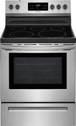 Best Buy Weekly Ad: Frigidaire -5.3 cu. ft. Electric Range for $499.99
