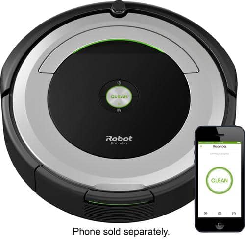 Best Buy Weekly Ad: iRobot Roomba 690 Wi-Fi Connected Robot Vacuum for $324.99