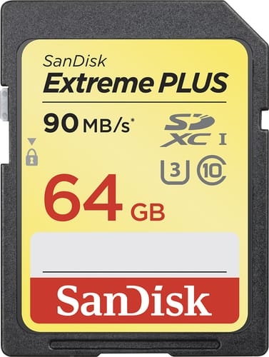 Best Buy Weekly Ad: SanDisk 64GB Extreme Plus and microSDXC for $39.99