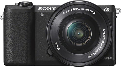 Best Buy Weekly Ad: Sony a5100 Mirrorless Camera with 16-50mm Lens for $549.99