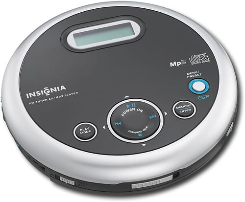 Best Buy Weekly Ad: Insignia Portable CD Player with AM/FM for $24.99