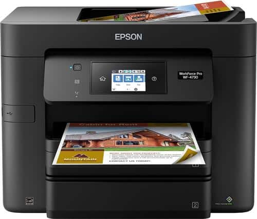 Best Buy Weekly Ad: Epson WorkForce Pro WF-4730 Wireless Printer for $99.99