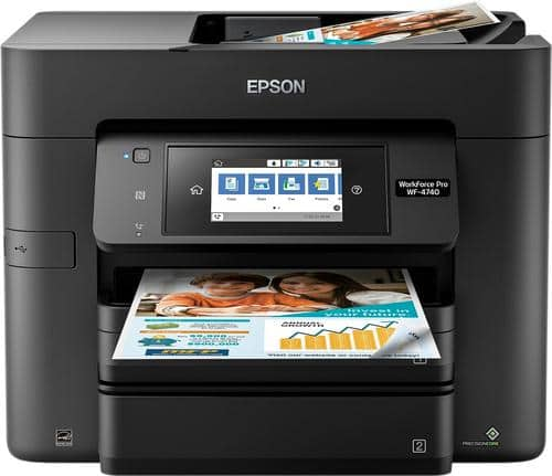 Best Buy Weekly Ad: Epson WorkForce Pro WF-4740 Wireless All-in-One Printer for $199.99
