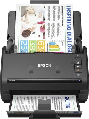 Best Buy Weekly Ad: Epson Workforce ES-400 Document Scanner for $279.99