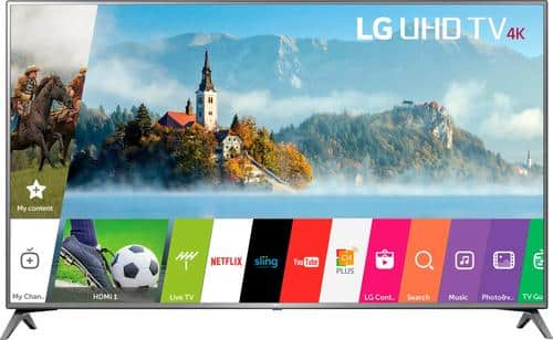 """Best Buy Weekly Ad: LG 70"""" Class LED 4K Ultra HD Smart TV for $999.99"""
