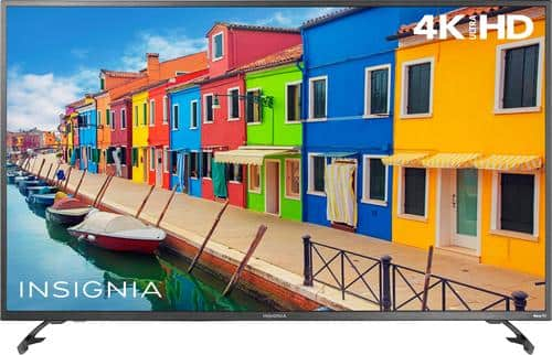 """Best Buy Weekly Ad: Insignia 55"""" Class LED 4K Ultra HD Smart TV (Roku TV) for $399.99"""