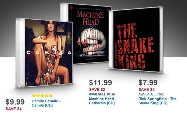 Best Buy Weekly Ad: Machine Head for $11.99