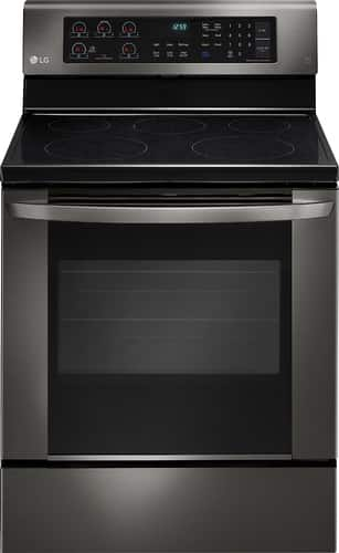Best Buy Weekly Ad: LG 6.3 cu. ft. Electric Convection Range for $699.99