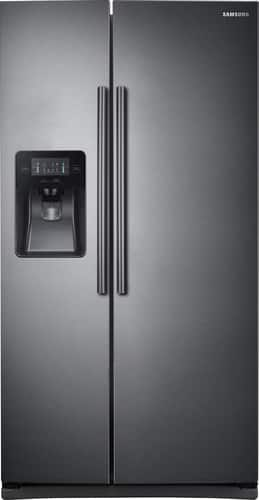 Best Buy Weekly Ad: Samsung 24.5 cu. ft. Black Stainless Steel Side-by-Side Refrigerator for $999.99