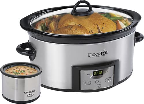 Best Buy Weekly Ad: Crock-Pot Countdown 6-qt. Slow Cooker and Little Dipper Warmer for $39.99