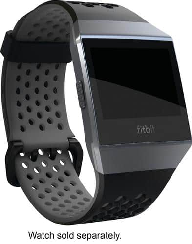 Best Buy Weekly Ad: Fitbit Black and Charcoal Sport Watch Strap for $29.99
