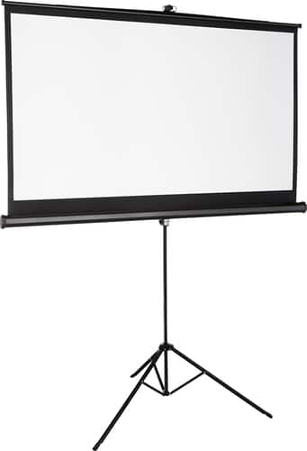 "Best Buy Weekly Ad: Insignia 75"" Tripod Projector Screen for $99.99"
