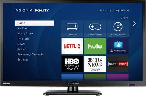 "Best Buy Weekly Ad: Insignia - 24"" Class LED 720p Smart HDTV (Roku TV) for $119.99"