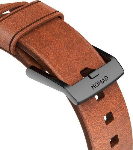 Best Buy Weekly Ad: Nomad Leather Watch Strap for Apple Watch 42mm - Brown for $59.99