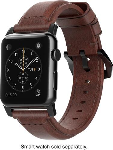 Best Buy Weekly Ad: Nomad Classic Leather Watch Strap for Apple Watch 42mm - Brown for $59.99