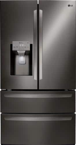 Best Buy Weekly Ad: LG 27.8 cu. ft. Black Stainless Steel French Door Refrigerator for $2,299.99