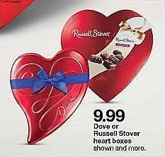 Target Weekly Ad: Dove Milk Chocolate Valentine's Truffle Heart - 6.5oz for $9.99