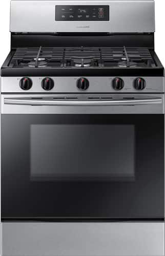 Best Buy Weekly Ad: Samsung - 5.8 cu. ft. Gas Range for $719.99
