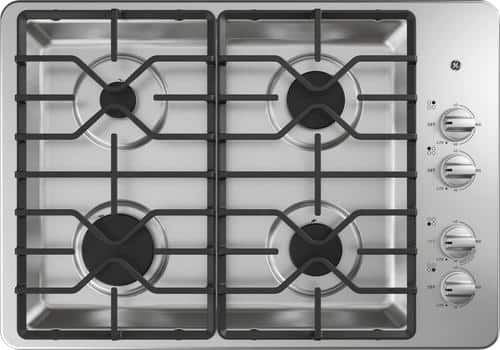 "Best Buy Weekly Ad: GE - 30"" Built-in Gas Cooktop for $499.99"