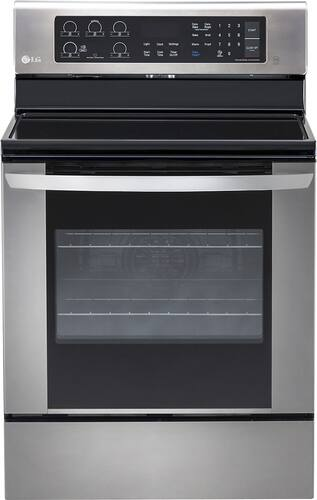 Best Buy Weekly Ad: LG - 6.3 cu. ft. Electric Convection Range for $719.99