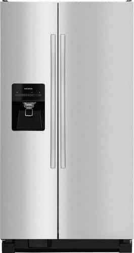 Best Buy Weekly Ad: Amana - 24.5 cu. ft. Stainless Steel Side-by-Side Refrigerator for $799.99