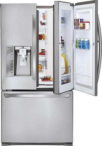 Best Buy Weekly Ad: KitchenAid - Door-in-Door 28.6 cu. ft. Stainless Steel French Door Refrigerator for $3,059.99