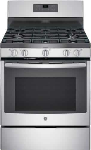 Best Buy Weekly Ad: GE - 5.0 cu. ft. Gas Range for $809.99