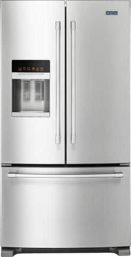 Best Buy Weekly Ad: Maytag - 24.7 cu. ft. Stainless Steel French Door Refrigerator for $1,699.99