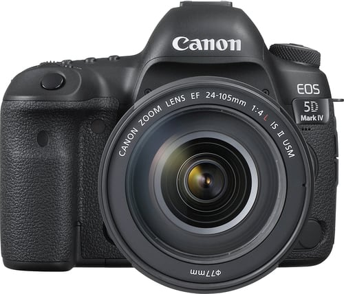 Best Buy Weekly Ad: Canon 5D Mark IV DSLR Camera with 24-105mm Lens for $4,199.99