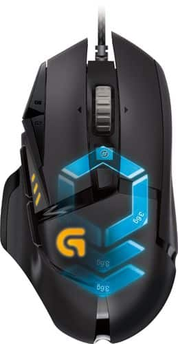 Best Buy Weekly Ad: Logitech G502 Proteus Spectrum Optical Gaming Mouse for $79.99