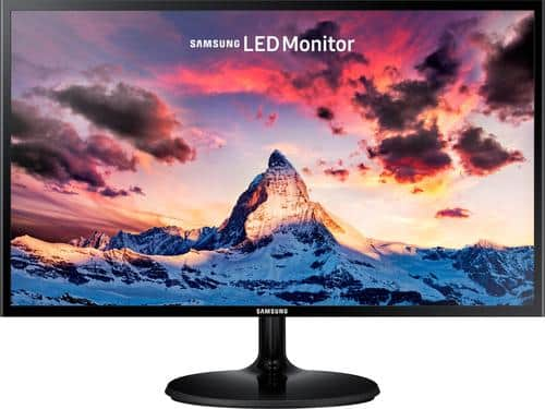 """Best Buy Weekly Ad: Samsung 24"""" LED FHD Monitor for $129.99"""