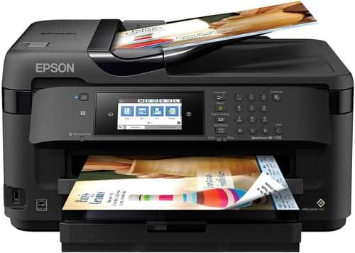 Best Buy Weekly Ad: Epson WorkForce WF-7710 Wireless All-In-One Printer for $149.99