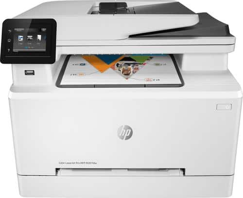 Best Buy Weekly Ad: HP Color LaserJet Pro M281FDW Wireless Printer for $329.99