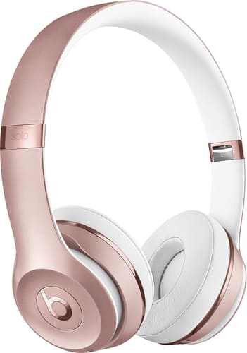 Best Buy Weekly Ad: Beats by Dr. Dre Beats Solo3 Wireless Headphones - Rose Gold for $299.99