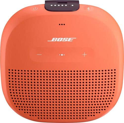 Best Buy Weekly Ad: Bose SoundLink Micro Bluetooth Speaker - Orange for $99.99