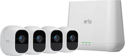 Best Buy Weekly Ad: Arlo Pro 2 Wire-Free HD 4-Cam. Kit for $749.99