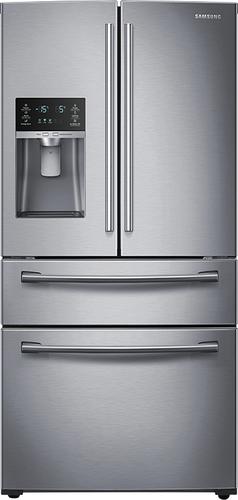 Best Buy Weekly Ad: Samsung - 28.2 cu. ft. Stainless Steel 4-Door French Door Refrigerator for $2,099.99