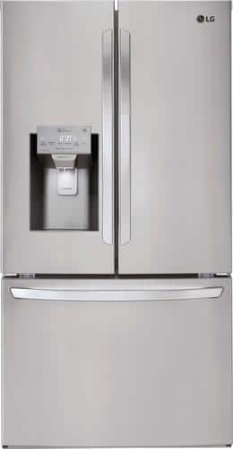 Best Buy Weekly Ad: LG - 27.9 cu. ft. Stainless Steel French Door Refrigerator for $1,999.99