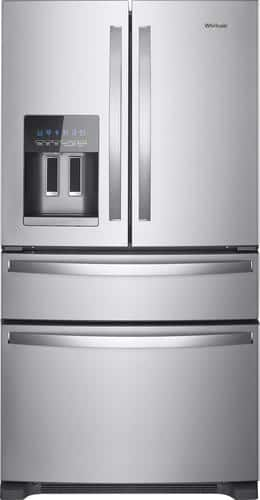 Best Buy Weekly Ad: Whirlpool - 24.5 cu. ft. Stainless Steel 4-Door French Door Refrigerator for $1,699.99